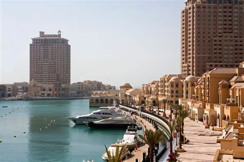 qatar tourism  pearl doha qatar