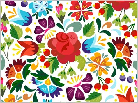floral pattern  psd ai vector eps format