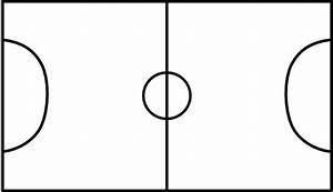 Black And White Soccer Field - ClipArt Best