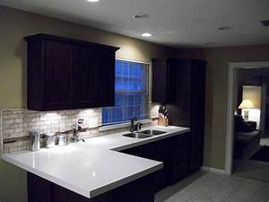 Installing recessed lighting in a kitchen : Installing recessed lighting in kitchen cabinets