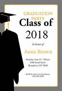 senior announcement templates free - class of free graduation party invitation template