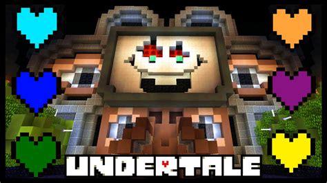 minecraft undertale omega flowey boss fight undertale  minecraft youtube