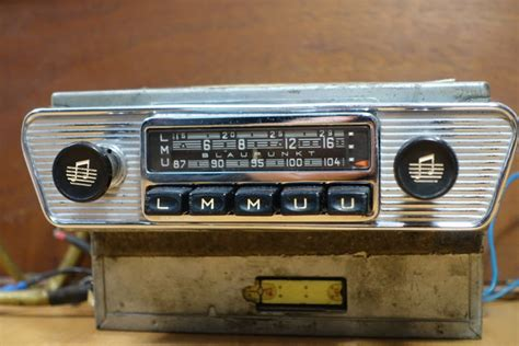 Blaupunkt Frankfurt Classic Car Radio For Jaguar E-type