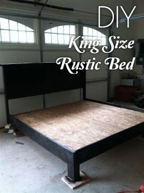 easy diy bed frame projects   build   budget