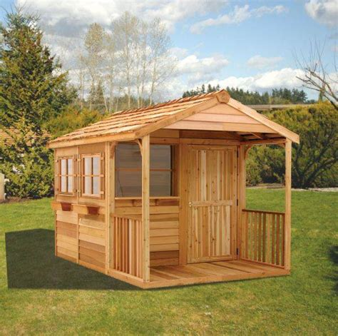 Backyard Clubhouse Plans by Clubhouse Kit Ch812