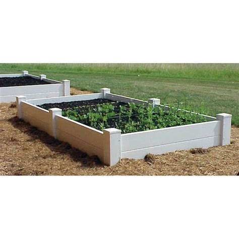 gronomics 48 in x 48 in x 19 in raised garden bed with