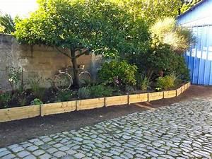 Bordure De Jardin Bois : la maison de v ro le jardin avant pendant apr s ~ Premium-room.com Idées de Décoration