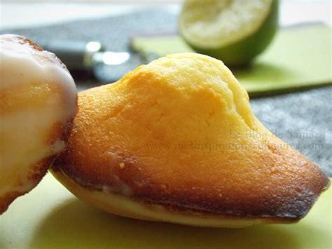 recettes de cuisine thermomix recette de madeleine facile miel citron vert le