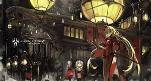 Anime, Pixiv, Fantasia, Fallen, Kings, Original, Characters, Armeechef, Pixiv, Fantasia, Wallpapers