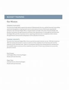 11  Training Budget Examples  U0026 Templates