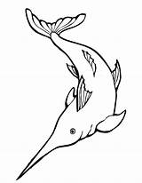 Coloring Fish Swordfish Ray Awesome Pages Sailfish Drawing Printable Luna Letter Getcolorings Getdrawings sketch template