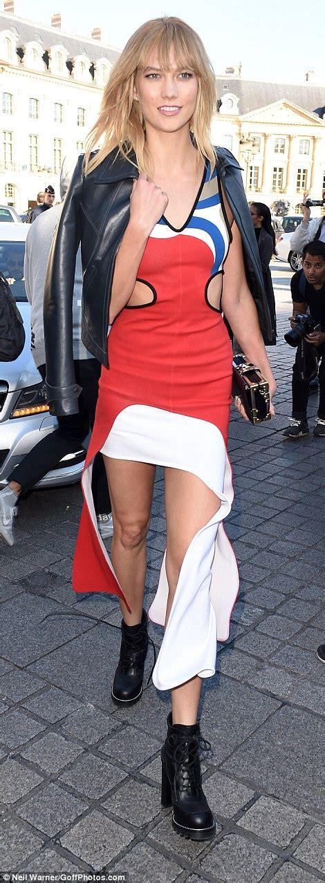 Karlie Kloss Miranda Kerr Look Incredible Louis