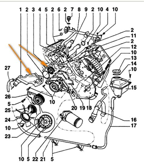 2004 Vw Passat Engine Diagram by 2001 Vw Passat Engine Diagram Automotive Parts Diagram
