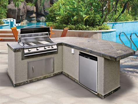 prefab outdoor kitchen island kitchen inspiring prefab outdoor kitchen grill design with