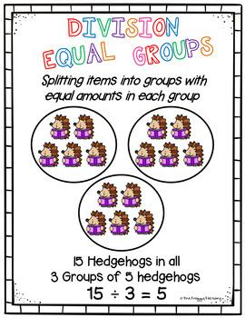 division equal groups division worksheets distance