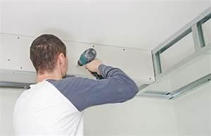 Rail Faux Plafond : prix d 39 un plafond tendu ~ Mglfilm.com Idées de Décoration