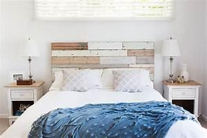 Cabeceros de cama ideas ingeniosas con madera