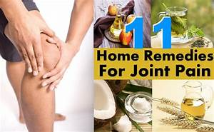 11 Home Remedies For Joint Pain