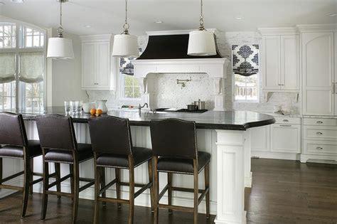 black  white kitchen  arteriors anderson iron