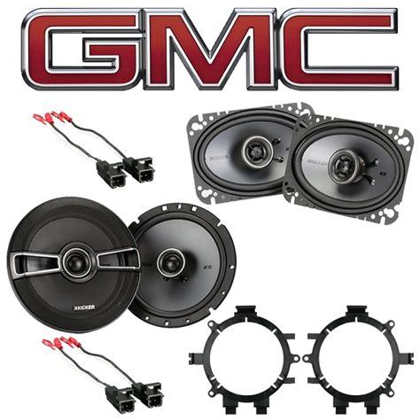 gmc 1999 2006 factory speaker replacement kicker ksc65 ksc46 package new sc2 spk package915