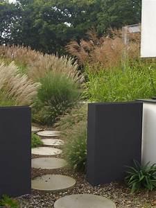 allee de jardin potager 8 piscine terrasse bois muret With allee de jardin potager