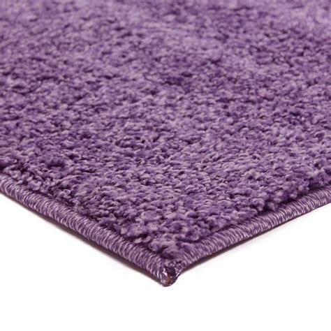 tapis shaggy pas cher parme lilas 120x170cm