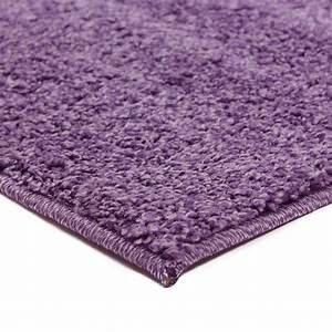 grand tapis shaggy pas cher parme 160x230cm With tapis mauve pas cher