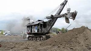 Bucyrus-Erie Steam Shovel Rollag 2014 - YouTube
