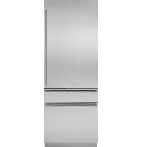 zicgnhii monogram  integrated customizable refrigerator  single  dual installation