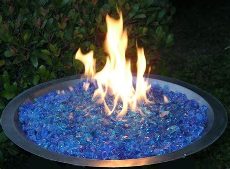 gas fireplace river rocks fireplace glass san diego