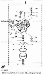 Yamaha Snowmobile 1987 Oem Parts Diagram For Carburetor