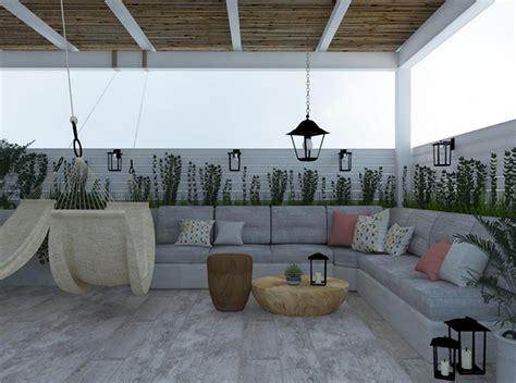 attrezzare un terrazzo come creare un angolo relax nella tua terrazza in certe