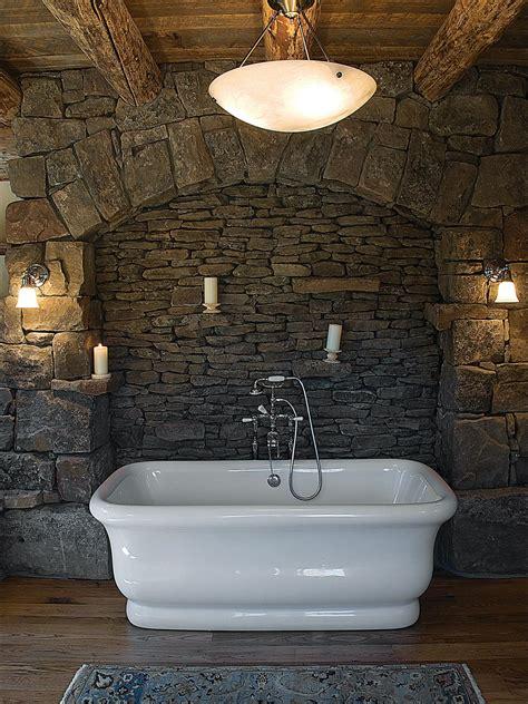 rustic bath tubs photos hgtv