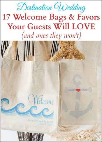 wedding  bags  favors  guests  love