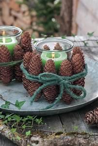 Weihnachtsdeko Basteln Für Den Tisch : tannenzapfen gibt es jetzt berall in der natur diese h bsche bastelei ist schnell gemacht und ~ Whattoseeinmadrid.com Haus und Dekorationen
