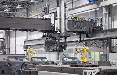 Machines Manufacturing Floor Robot
