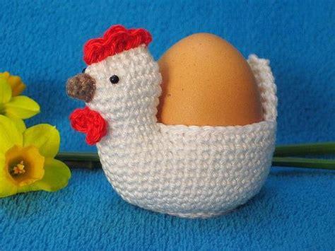 Chicken Egg Holder Cosy Easter Spring Amigurumi Pdf Crochet
