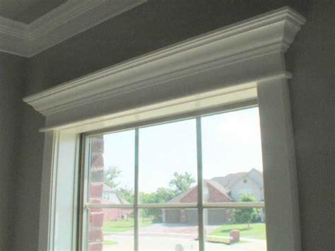 Window Crown Molding by Window Crown Molding Ideas Home Improvement
