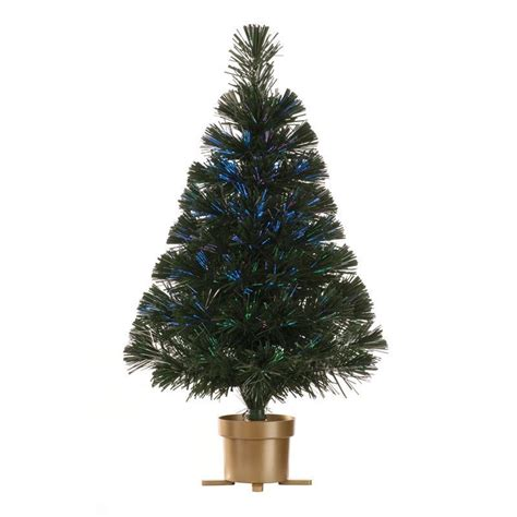 70 tips green 60cm usb fibre optic gold led christmas tree