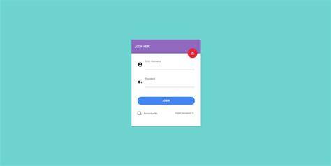 60 free css3 html5 login form templates 2019