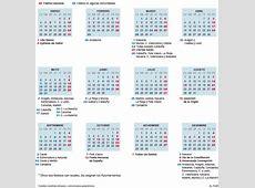 Festivos El calendario laboral de 2016 ocho festivos en