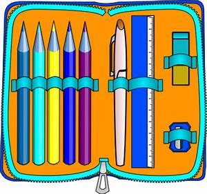 Pencil case clipart - Clipground