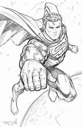 Superman Sketch Steel Coloring Drawing Pages Drawings Sketches Comic Superhero Printable Raydillon Deviantart Warm Colouring Perspective Slender Dc Marvel Hero sketch template