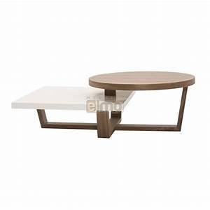 Table Basse Bois Moderne : table basse bois moderne table salon rectangulaire maisonjoffrois ~ Melissatoandfro.com Idées de Décoration