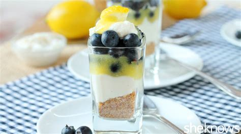 blueberry lemon dessert are the best way to end a meal