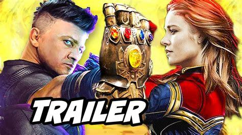 Avengers Infinity War Trailer Hawkeye Cut Missing