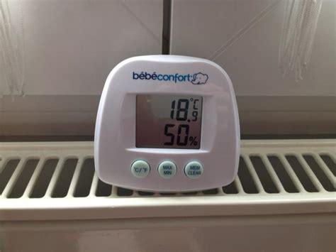 humidité chambre bébé thermomètre hygromètre bebe confort avis
