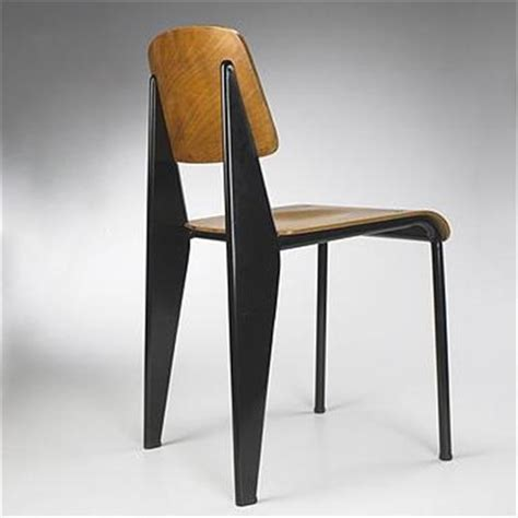 chaise architecte jean prouve standard chair ateliers jean prou