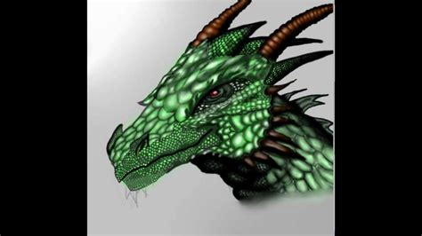 how to paint a l how to paint a dragon youtube