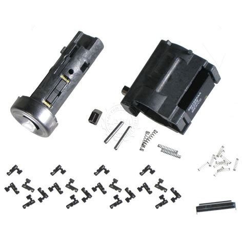 Steering Column Ignition Lock Cylinder Kit Delco For